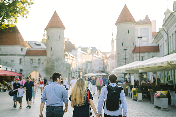 People in Tallinn